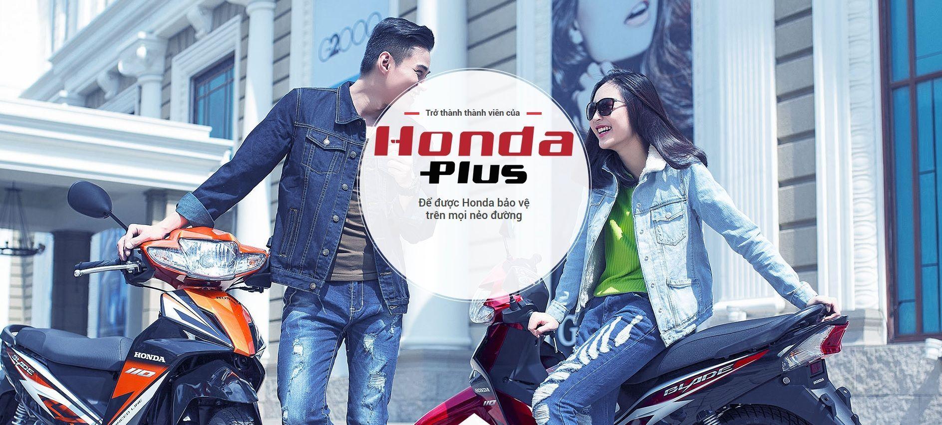 Chương trình thành viên Honda Plus