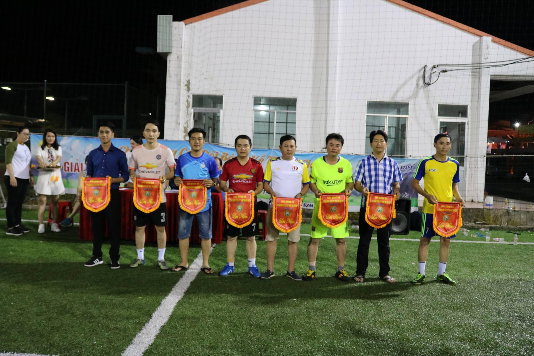 Lễ bế mạc giải bóng đá nam công đoàn cơ sở công ty TNHH TM Kim Điệp lần thứ 1