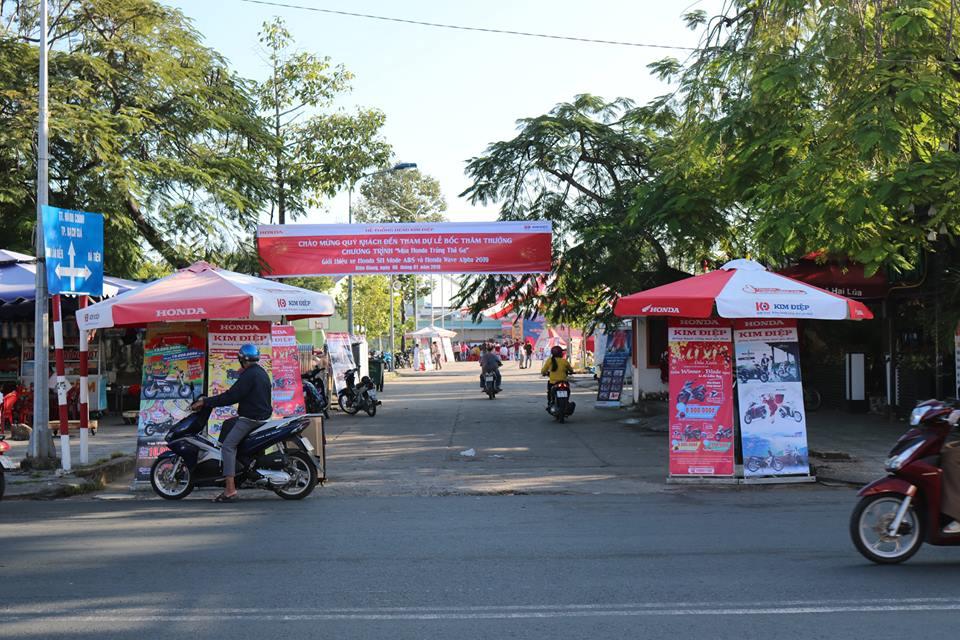 Lễ bốc thăm trúng thưởng chương trình Mua Honda Trúng Thả Ga