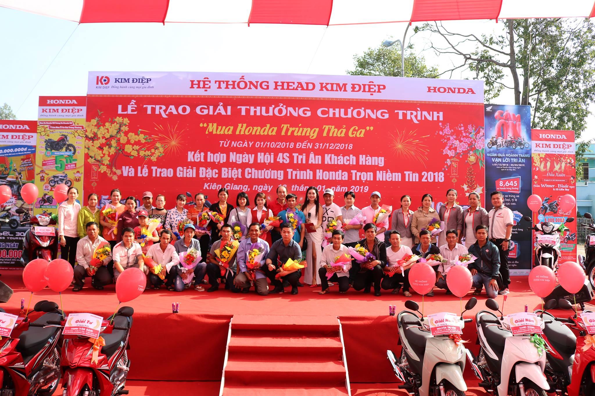 Lễ Trao giải chương trình Mua Honda Trúng Thả Ga