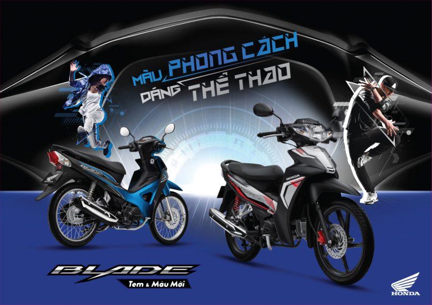Honda Việt Nam giới thiệu phiên bản mới Blade 110cc Màu phong cách dáng thể thao