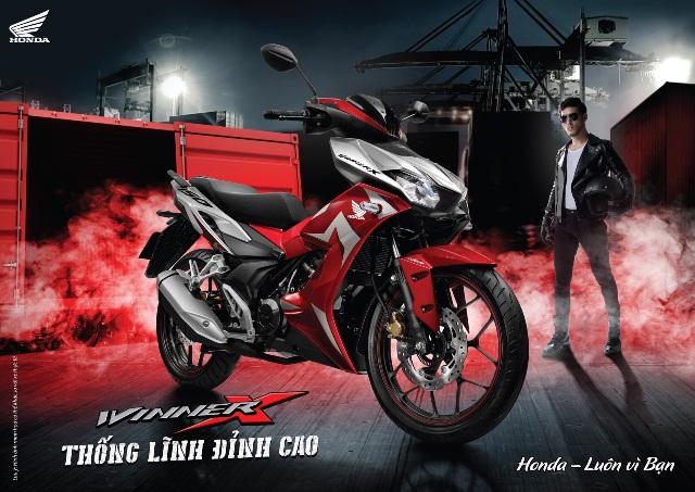 """Honda Việt Nam giới thiệu siêu phẩm WINNER X hoàn toàn mới tại đại nhạc hội """"Thống lĩnh đỉnh cao"""""""
