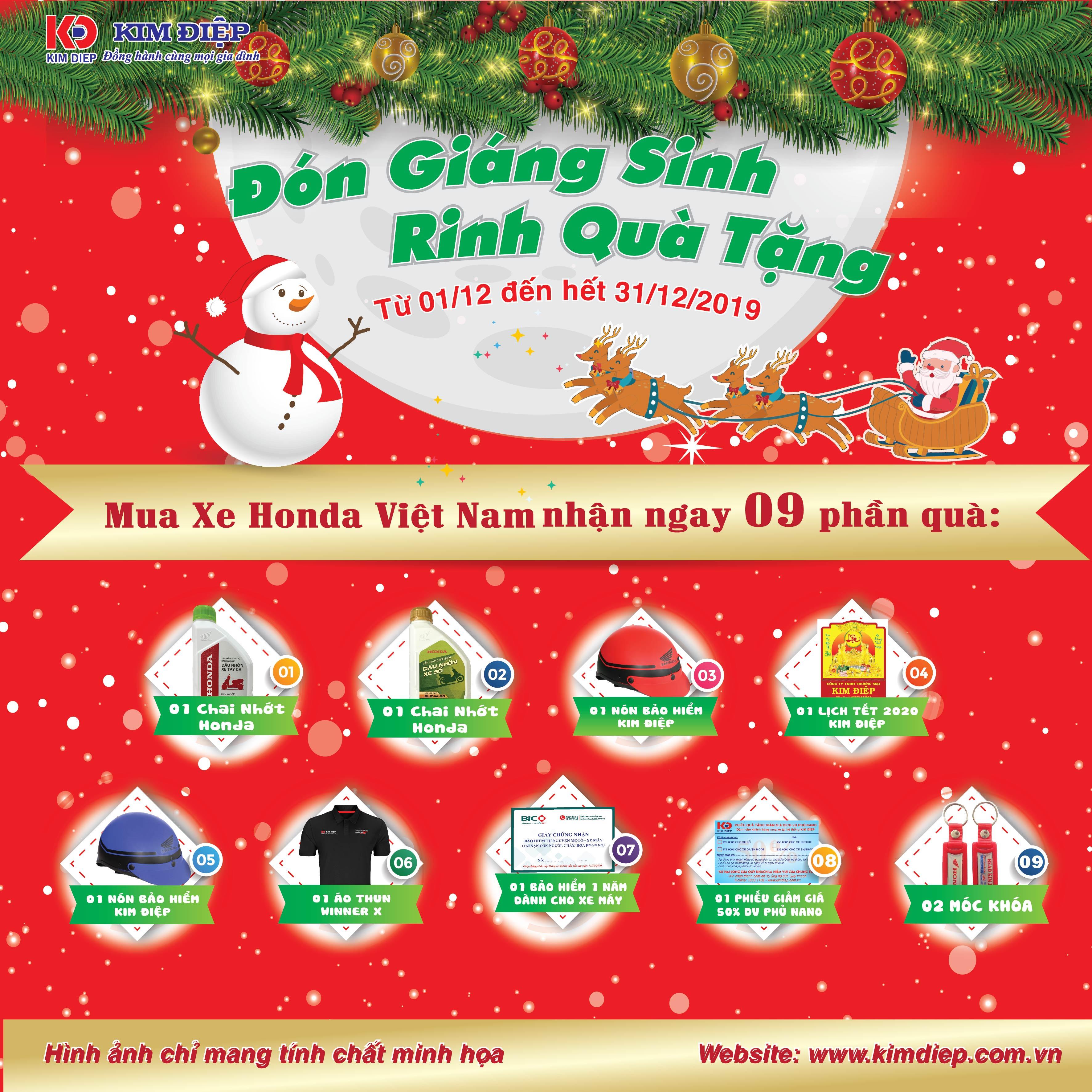 Đón Giáng Sinh Rinh Quà Tặng
