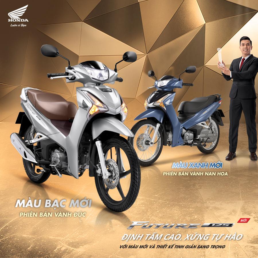 Honda Việt Nam giới thiệu phiên bản mới Future FI 125cc
