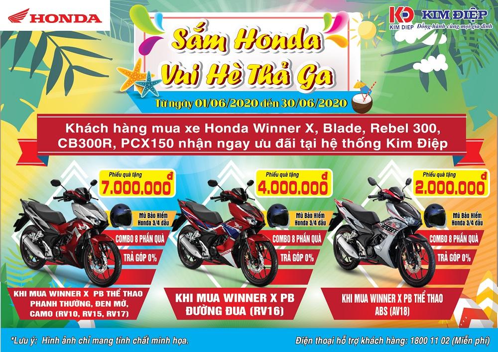 Sắm Honda Vui Hè Thả Ga