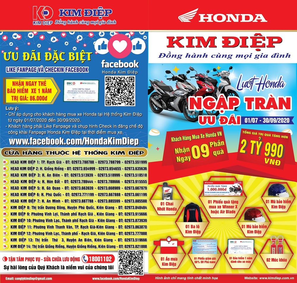 LƯỚT Honda - NGẬP TRÀN ƯU ĐÃI