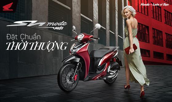 Honda Việt Nam giới thiệu phiên bản hoàn toàn mới mẫu xe Sh mode 125cc - Đặt chuẩn thời thượng