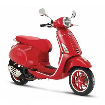 VESPA PRIMAVERA RED 125