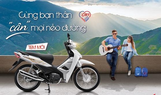 """Honda Việt Nam giới thiệu phiên bản mới Wave Alpha 110cc """"Cùng bạn thân cân mọi nẻo đường"""""""