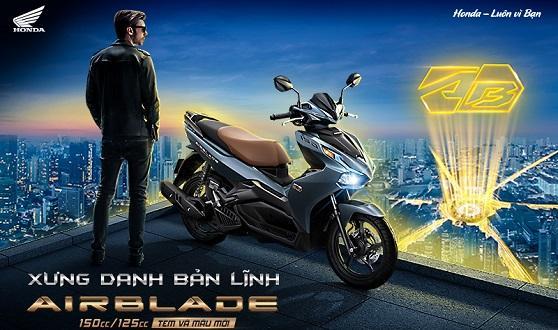 Honda Việt Nam giới thiệu phiên bản mới Honda Air Blade 150cc 125cc