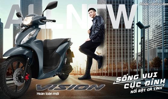Honda Việt Nam giới thiệu Honda VISION hoàn toàn mới Sống vui cực đỉnh