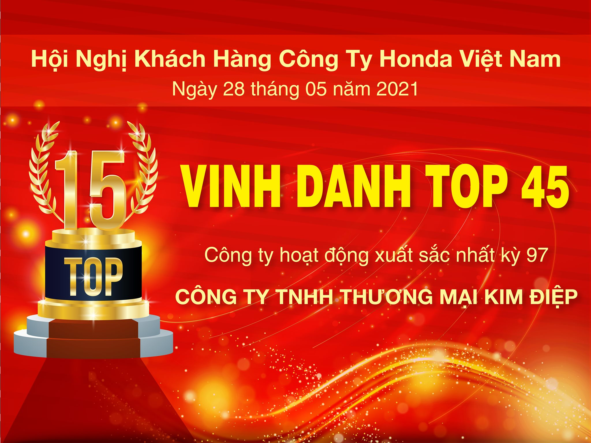 Hội nghị Khách hàng do Công ty Honda Việt Nam tổ chức kỳ 97
