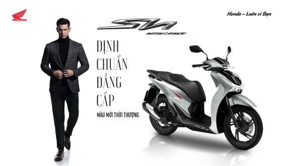 Honda Việt Nam giới thiệu phiên bản mới SH125i/150i Định chuẩn đẳng cấp