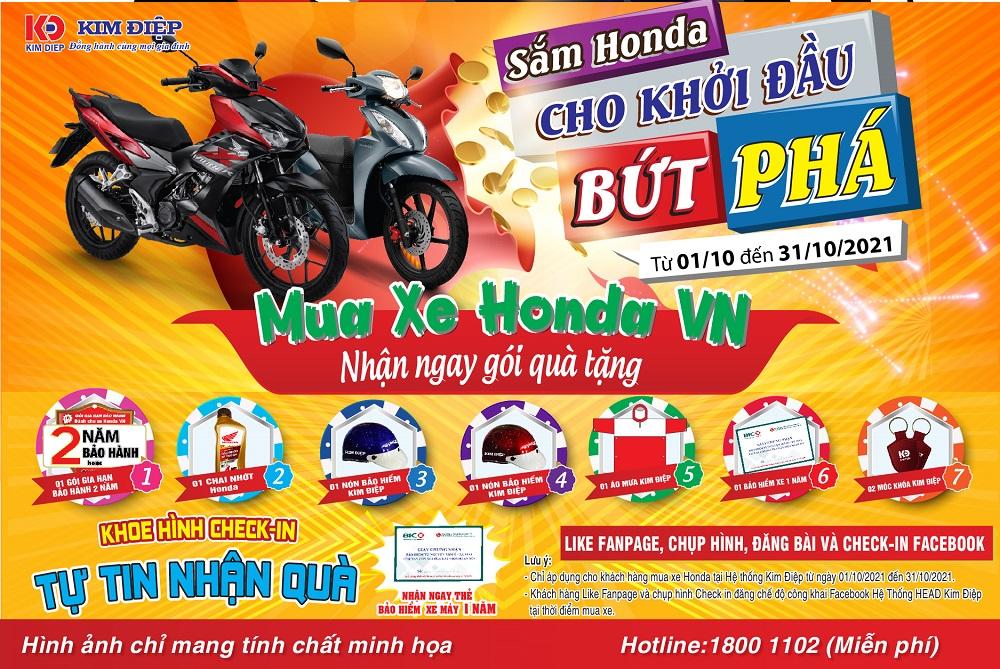 Sắm Honda Cho Khởi Đầu Bứt Phá