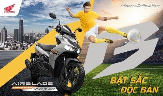 Honda Việt Nam giới thiệu phiên bản giới hạn Honda Air Blade 150cc/125cc  Bật sắc độc bản